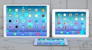 iPhone с увеличенным дисплеем ожидается в мае. 12 9-дюймовый iPad задержится до октября