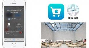 iBeacon запущена во всех Apple Store на территории США
