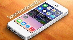 Как записать видео с экрана iPhone в iOS 7 [джейлбрейк]