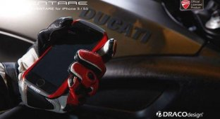 DRACOdesign представила алюминиевые «бамперы» для iPhone 5/5s