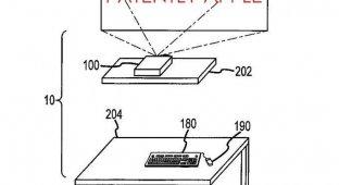 Apple получила патент на компьютерную систему новой с интегрированным проектором