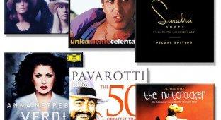 Идеи музыкальных подарков к Новому Году для ценителей. Abba Adriano Celentano Luciano Pavarotti Frank Sinatra и не только