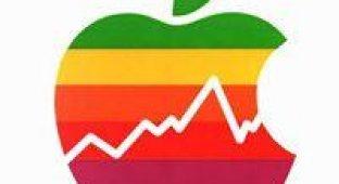 Акции Apple достигли отметки в 575,14$. Это годовой рекорд