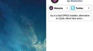 Icy: новый магазин неофициальных приложений для iOS 7