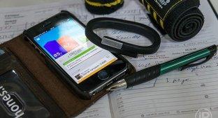Обзор спортивного браслета Jawbone UP24. Долой провода