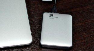 Обзор портативного жесткого диска My Passport для Mac от WD