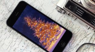 Праздничные новогодние обои для рабочего стола вашего iPhone!