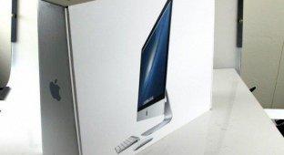 Про перевозку iMac в самолёте