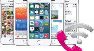 В iOS 8 beta 3 появилась поддержка Wi-Fi-звонков