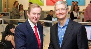 Тим Кук посетил штаб-квартиру Apple в Ирландии и встретился с премьер-министром страны