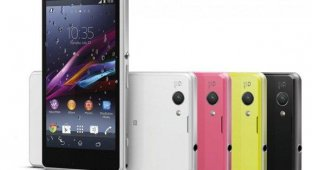 Sony анонсировала защищенный мини-флагман Xperia Z1 Сompact
