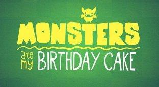 Monsters Ate My Birthday Cake — свежая выпечка от Cartoon Network