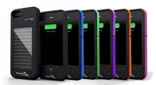 EnerPlex выпустила чехлы с солнечной батареей для iPhone 5s и Galaxy S4