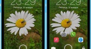 JellyLock7: экран блокировки для iPhone и iPad в стиле Android [Cydia]
