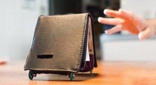 Японцы создали «живой» кошелек который контролирует расходы хозяина [видео]