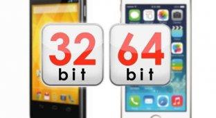 64-битная версия Android выйдет через год после релиза 64-битной iOS 7