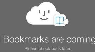 Сайт iCloud.com скоро сможет отображать «Закладки iCloud»