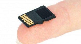 SanDisk выпустила первую в мире карту памяти microSDXC объемом 128 Гб