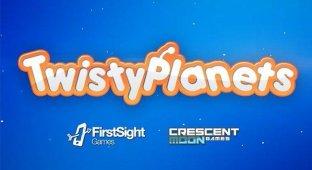 Twisty Planets — советский телевизор с глазами кота из «Шрека»