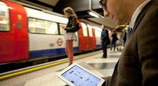 Москвичи за месяц скачали через Wi-Fi на Кольцевой линии 12 ТБ данных