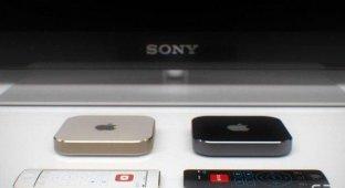 Концепт Apple TV с сенсорным пультом управления на который стоит обратить внимание