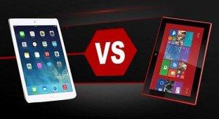 Microsoft на российском сайте сравнила iPad Air с лучшими Windows-планшетами