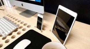 SlatePro – оригинальный стол для удобной организации устройств Apple и не только