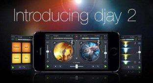 Музыкальное приложение djay 2 впервые стало бесплатным