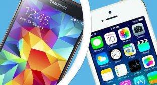 Samsung поторопилась с выпуском Galaxy S5 из-за высокой популярности iPhone 5s