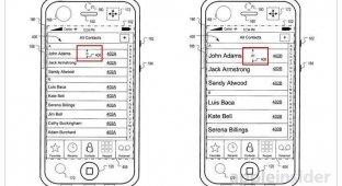 Apple запатентовала возможность изменения интерфейса при обнаружении движений устройства