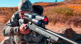Армия США начала тестировать снайперскую винтовку управляемую с iPad [видео]