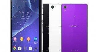 В Россию приходит флагманский смартфон Sony Xperia Z2