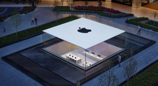 До чего же красивый Apple Store