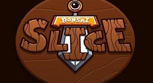 Bonsai Slice — рискуя уронить iPad
