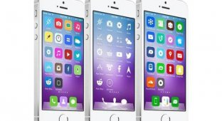 Топ-5 тем оформления для iOS 7 на этой неделе
