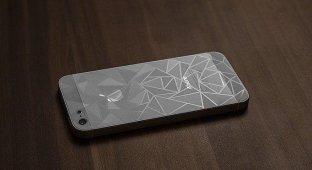 Обзор защитной плёнки с 3D-узором для iPhone
