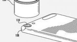 Новый патент Apple позволит закрепить на iPhone дополнительный объектив