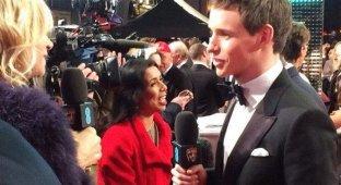 Репортеры снимали кинопремию BAFTA на iPhone 5s