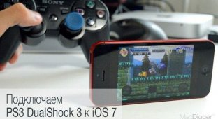 Как подключить контроллер PS3 DualShock 3 к iPhone и iPad на iOS 7 [инструкция]