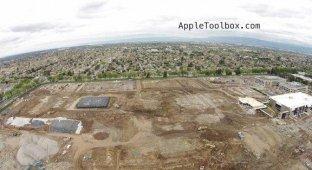 Apple подготовила место для посадки «летающей тарелки» [фото]