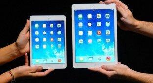 iOS 7.1 доступна для двух новых моделей iPad