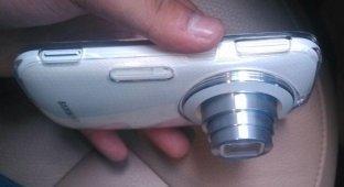 В Сеть утекли изображения 20-мегапиксельного камерофона Galaxy K Zoom [фото]