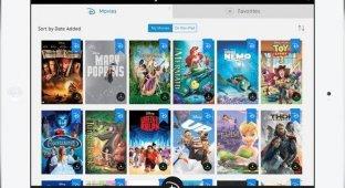 Disney выпустил приложение для iOS с 400 фильмами