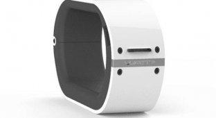 Wrist Power:«умный» браслет-аккумулятор для мобильных гаджетов [видео]