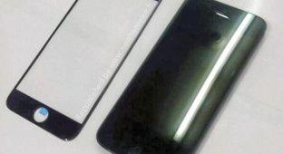 Фотографии изогнутого сапфирового стекла iPhone 6