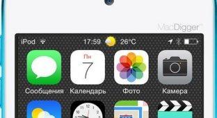 Как добавить прогноз погоды в строку статуса iOS 7.1.x [Cydia]