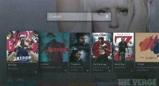 В Сеть утекли скриншоты Android TV