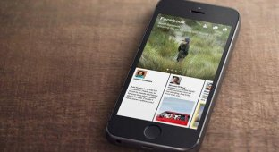 Facebook представила приложение-газету для iPhone [видео]