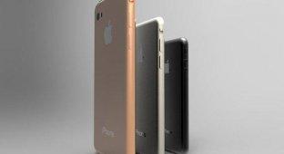 Концепт iPhone Air iPhone Air mini и iPhone Air Pro в титановом корпусе [видео]
