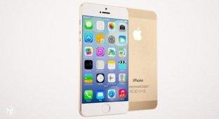 Дизайнер показал концепт золотого iPhone Pro с 4 9-дюймовым дисплеем [видео]
